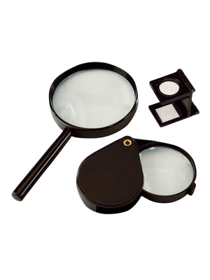 Loupes, lot de 3