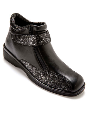 Boots cuir extra larges