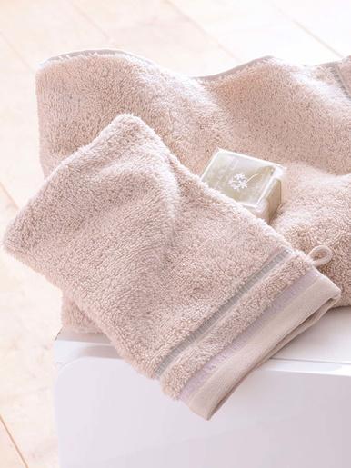 Lot de 2 gants de toilette Canos