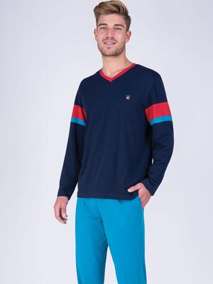 Pyjama col V A vos marques