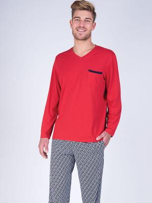 Pyjama col V Faites vos jeux