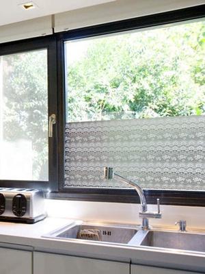 Décor de fenêtre dentelle